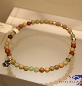 MAS Jewelz MAS bracelet serpentine silver model 2 M