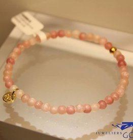 MAS Jewelz MAS bracelet pink opal gold model 1 M