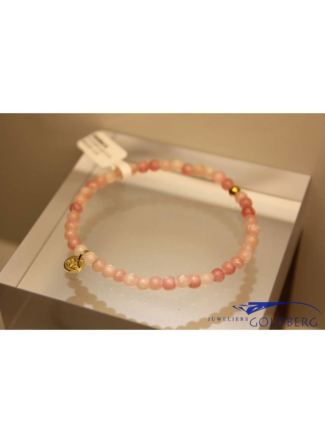 MAS armbandje roze opaal goud model 1 M