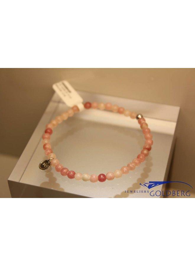 MAS bracelet pink opal silver model 1 M