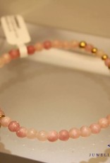 MAS Jewelz MAS bracelet pink opal gold model 2 M