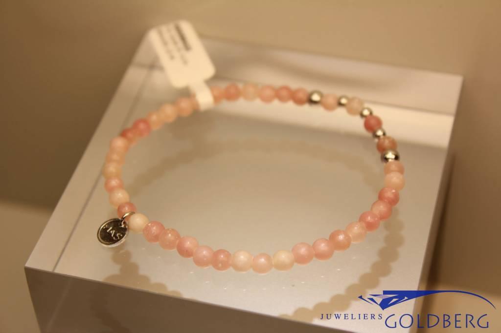 MAS Jewelz MAS bracelet pink opal silver model 2 M