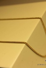 14 carat gold necklace gourmet link 1,35mm 42cm