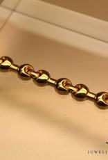 14k gouden fantasie armband