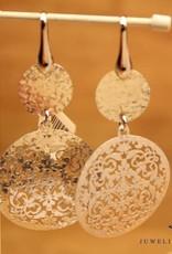 Sanjoya Silver hanging earrings