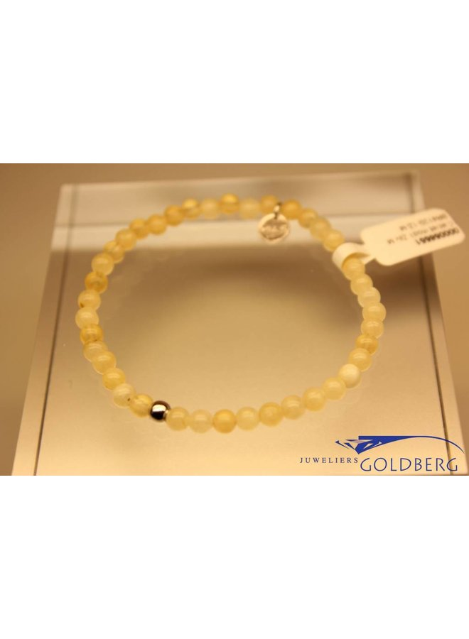 MAS bracelet calcite silver model 1 M