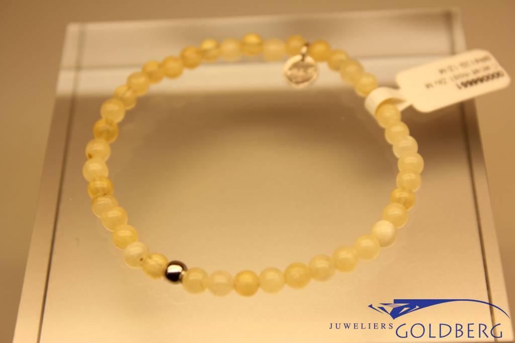 MAS Jewelz MAS bracelet calcite silver model 1 M