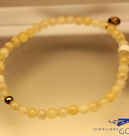 MAS Jewelz MAS bracelet calcite gold model 1 M