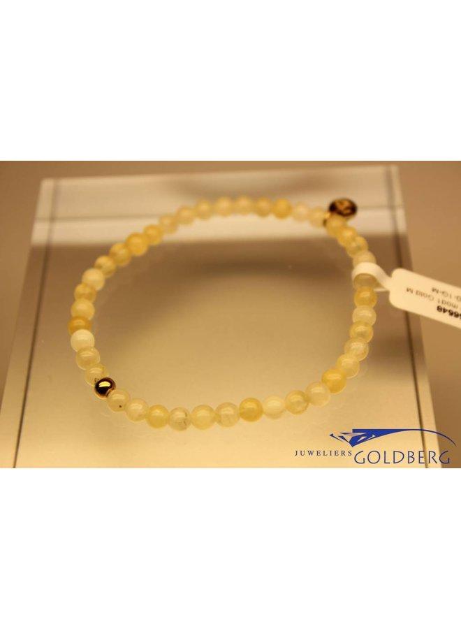 MAS armbandje calciet goud model 1 M