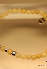 MAS Jewelz MAS bracelet calcite silver model 2 M