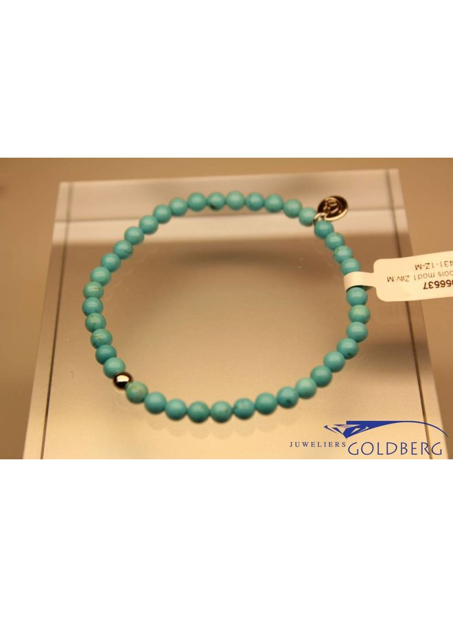 MAS bracelet turquoise silver model 1 M