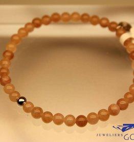MAS Jewelz MAS bracelet Jade Mocha silver model 1 M