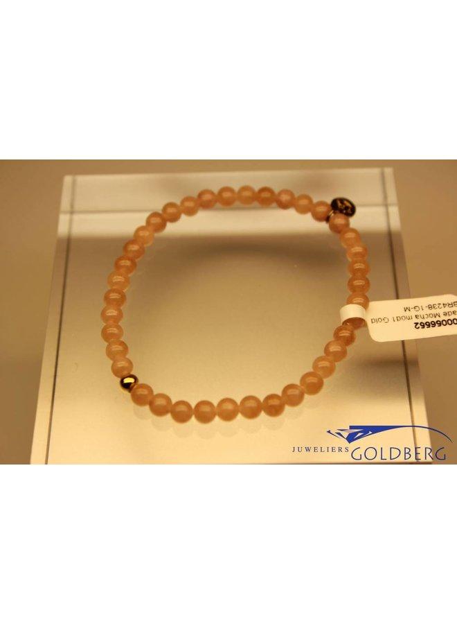 MAS bracelet Jade Mocha gold model 1 M