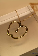 Vintage 18 carat gold Tiffany & Co. Peretti necklace with apple