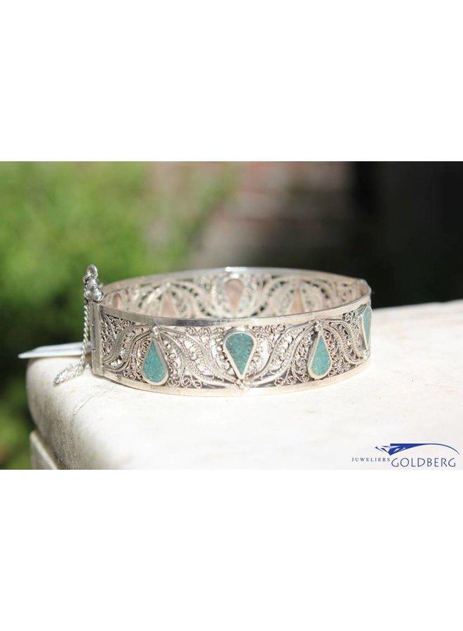 Maroccan silver vintage bange