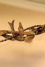 antieke zilveren broche Chester (Engeland)1897-1918