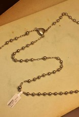 Antieke zilveren rozenkrans 1924-1947 klein