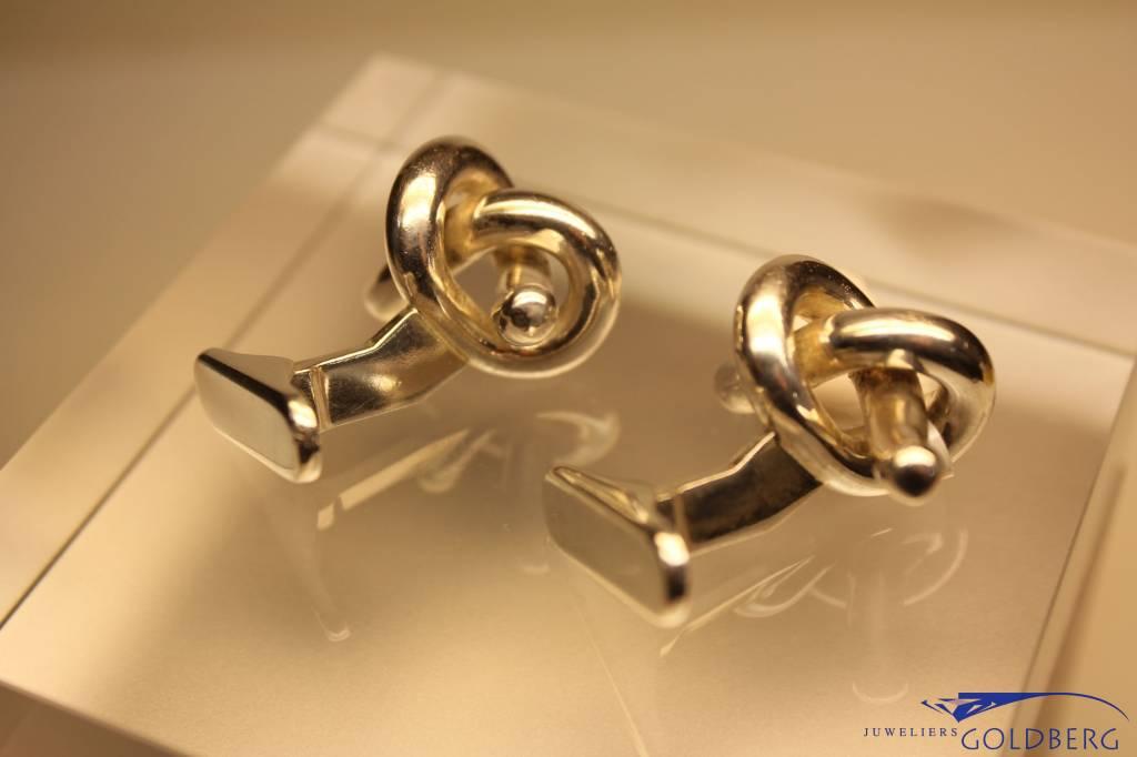 Zilveren manchetknopen Hans Hansen