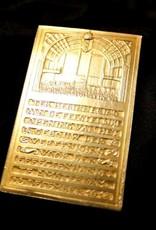 Antique gold medal stock exchange association Amsterdam 1913