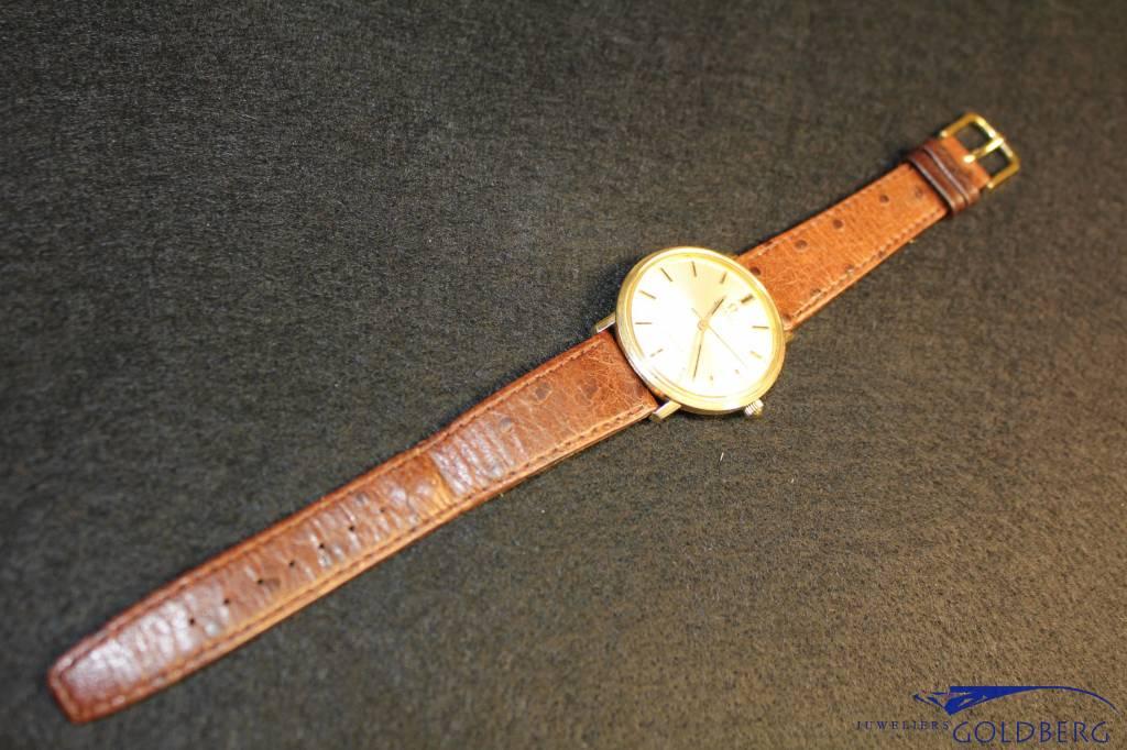 vintage 14 carat gold Omega De Ville automatic 35mm