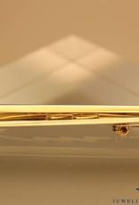 18k gouden broche LeChic 0.10ct briljant