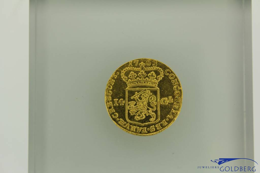 Gulden Rijder (Gold Rider) 1763 Holland province