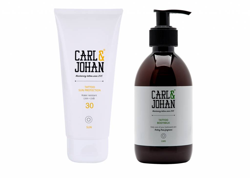 PROMO PACK 1: C&J Bodymilk 300 ml + C&J Sun Protection 100 ml