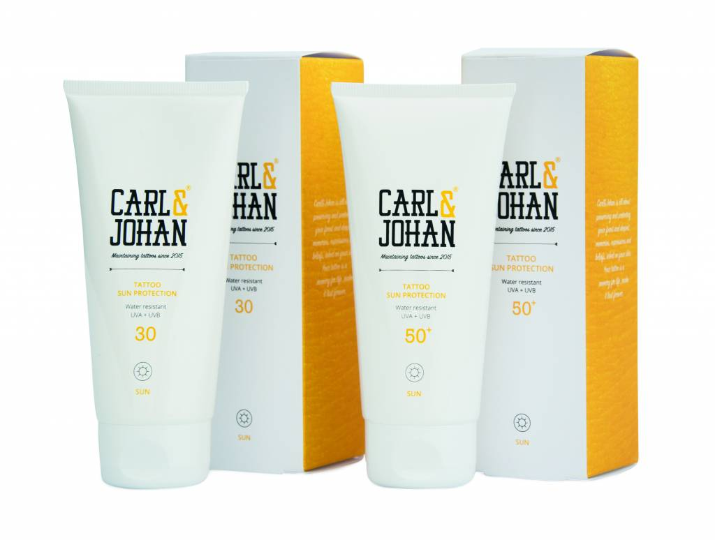 Protection solaire SPF30 et SPF50+