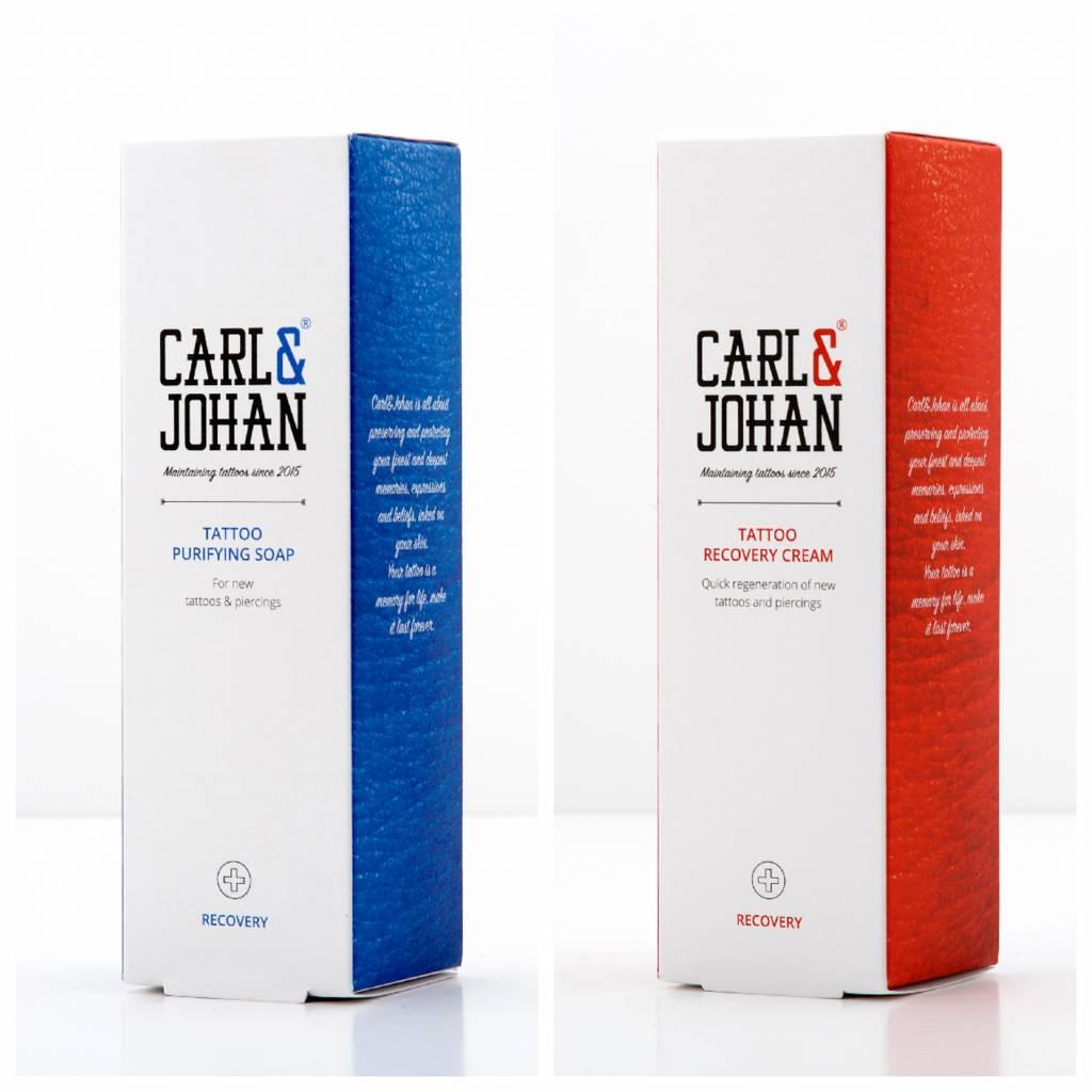 Purifying soap - 35 ML + Regenerating cream - 35 ML