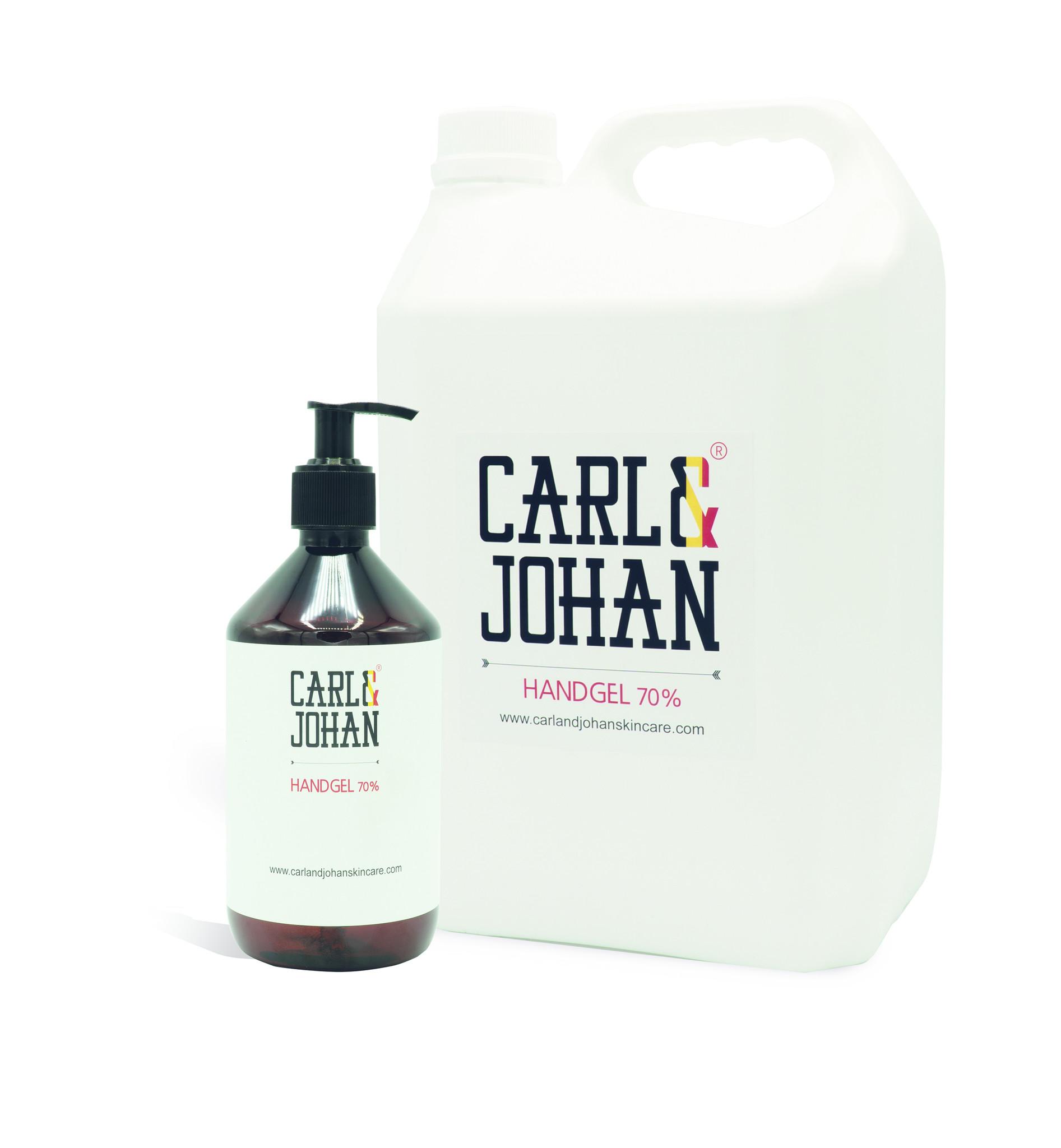C&J Antibacterial Hand Sanitizer Gel 70% alcohol - 5 liters