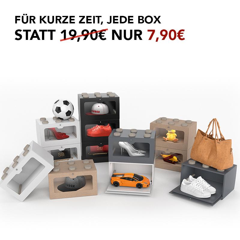 showbox sneaker storage sneaker presentation showbox. Black Bedroom Furniture Sets. Home Design Ideas