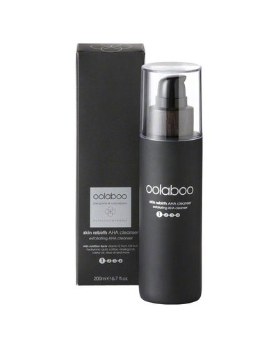 Oolaboo Skin Rebirth Exfoliating AHA Cleanser - Phase 1 200ml