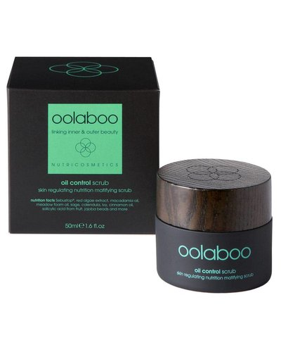 Oolaboo Oil Control Skin Regulating Nutrition Matifying Scrub 50ml