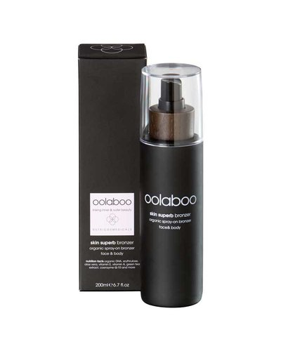 Oolaboo Skin Superb Organic Spray-on Bronzer Face & Body 200ml