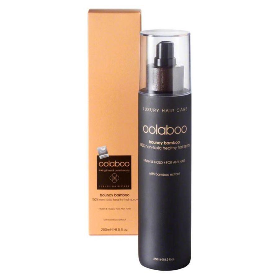 Bouncy Bamboo 100% Non-Toxic Healthy Hair Spray 250ml