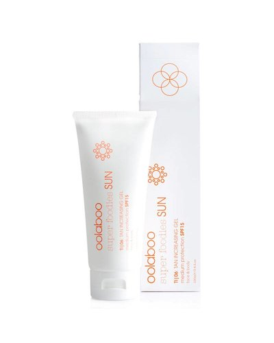 Oolaboo Super Foodies Sun TI|06: Tan Increasing Gel SPF15 100ml