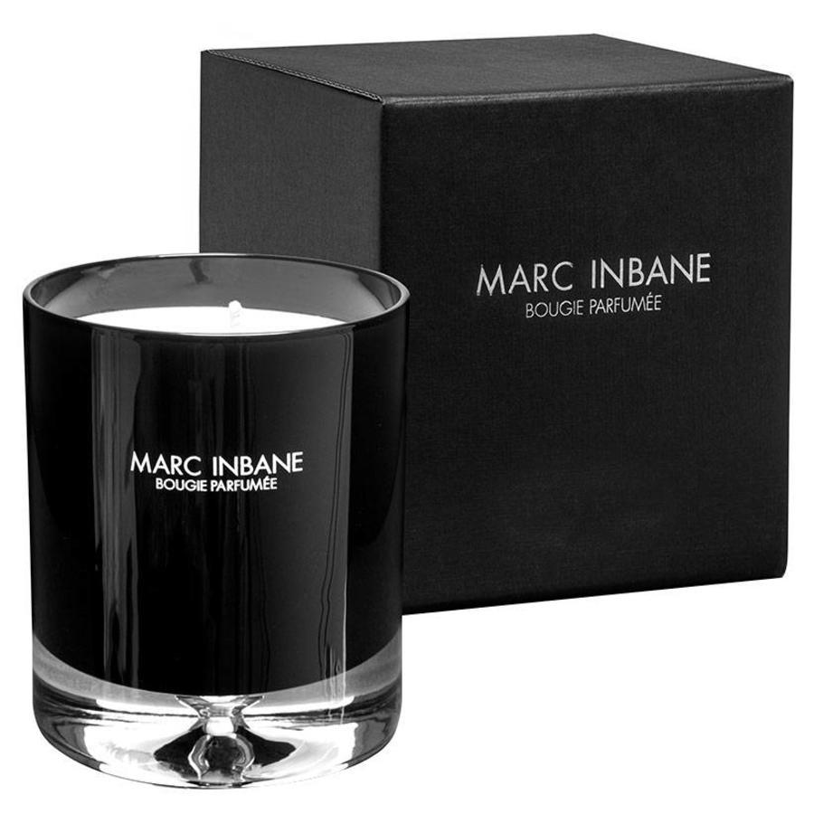 Bougie Parfumée Candle Tabac Cuir 200gr Black