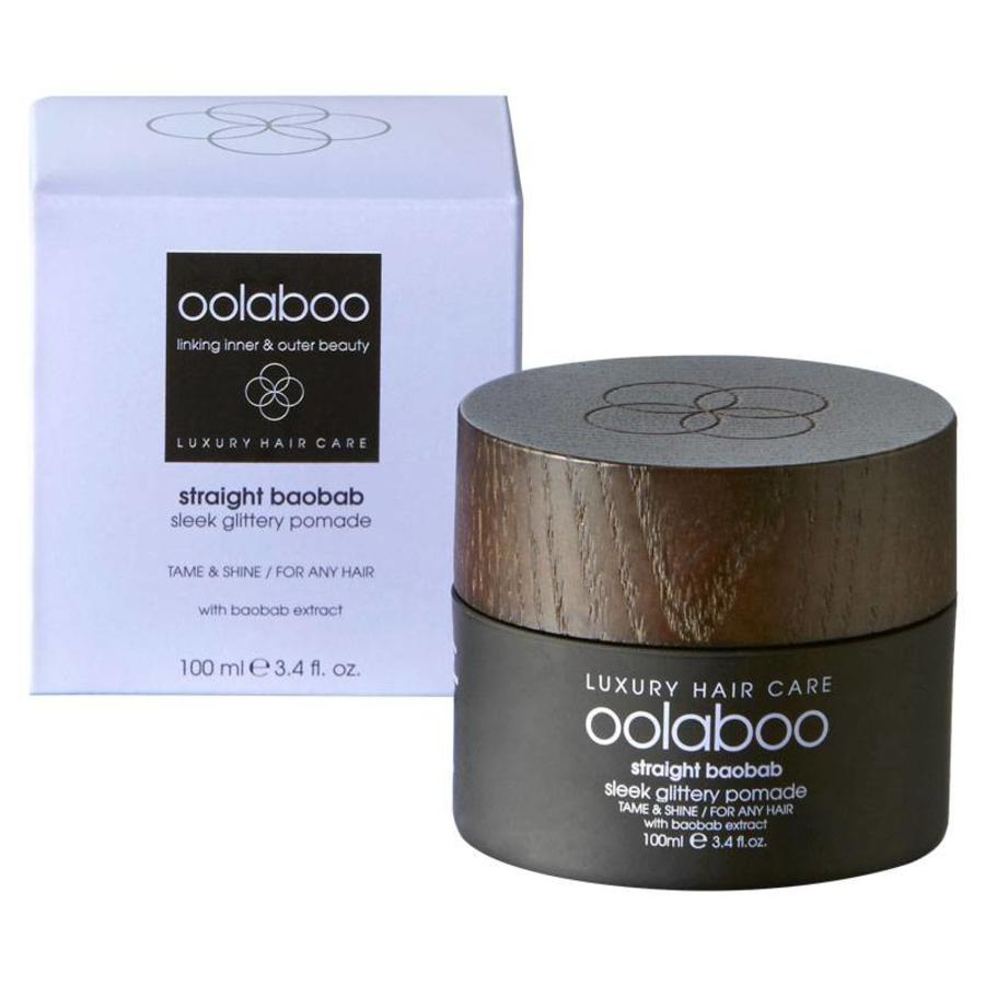 Straight Baobab Sleek Glittery Pomade 100ml