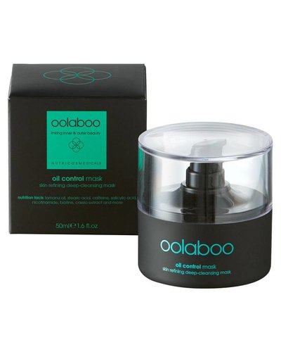 Oolaboo Oil Control Mask Skin Refining Deep Cleansing Mask 50ml
