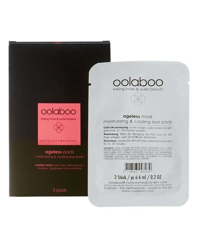 Oolaboo Ageless Pads Moisturizing & Cooling Eye Pads 3 pieces