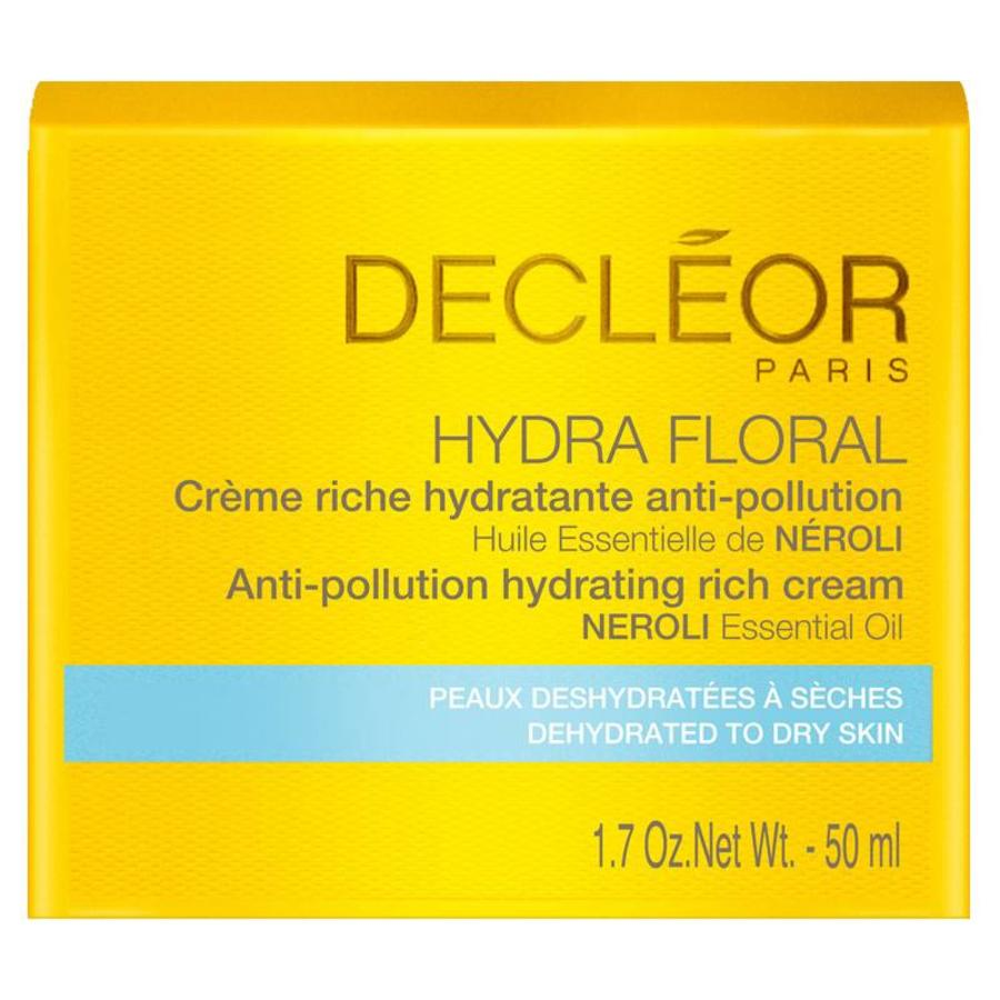 Hydra Floral Crème Riche Hydratante Anti-Pollution 50ml