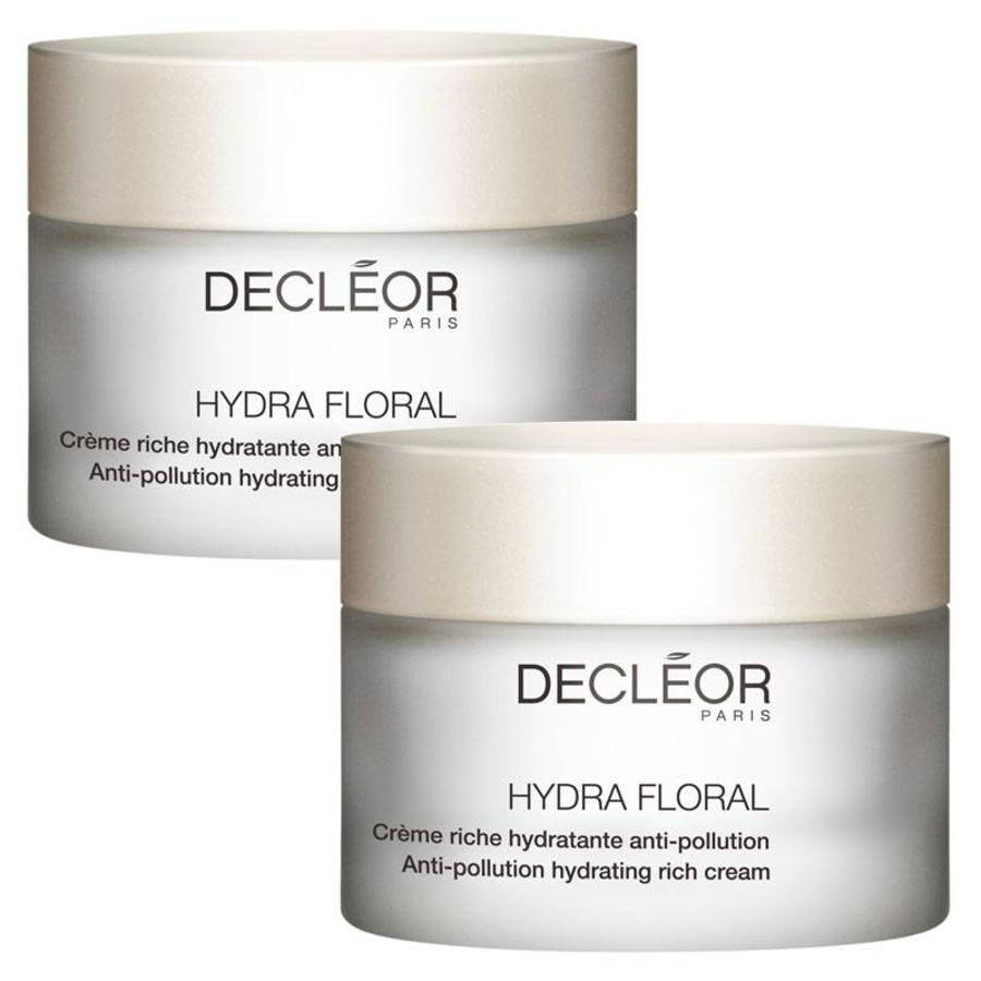 Hydra Floral Crème Riche Hydratante Anti-Pollution Duo