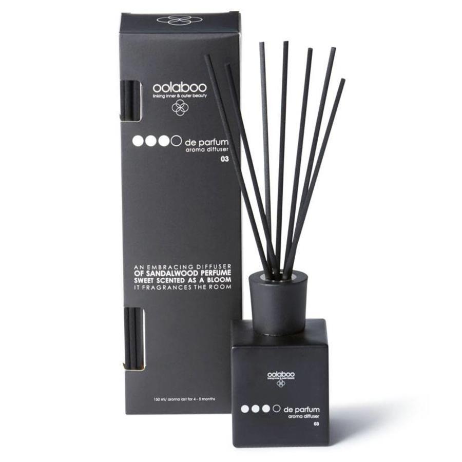OOOO de Parfum Aroma Diffuser 150ml 03 Sandalwood