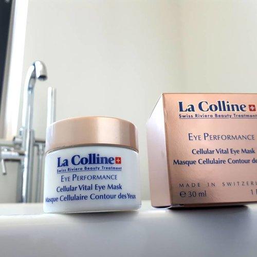 Review La Colline Eye Performance Cellular Vital Eye Mask