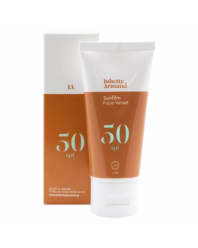 Juliette Armand Sunfilm Face Velvet SPF50+ 55ml