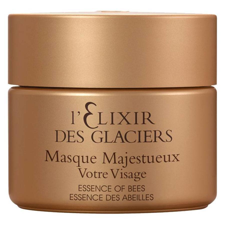 l'Elixir des Glaciers Essence of Bees Masque Majestueux Votre Visage 50ml