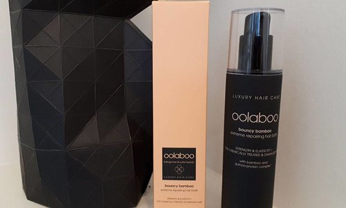 Review Oolaboo Bouncy Bamboo Extreme Repairing Hair Bath