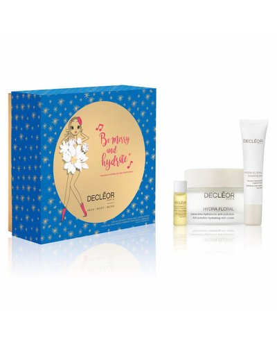 Decléor Be Merry And Hydrate Hydra Floral Rich Hydration Gift Set