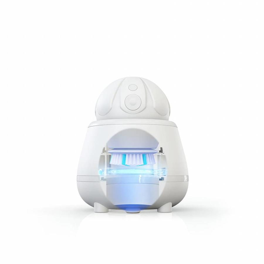 Aura Clean Orbital Gezichtsborstel Systeem Wit