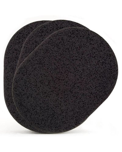 Dehcos Reinigingsspons (Zwart) 3-pak